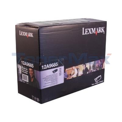 LEXMARK T630 RP TONER CARTRIDGE BLACK GSA 21K